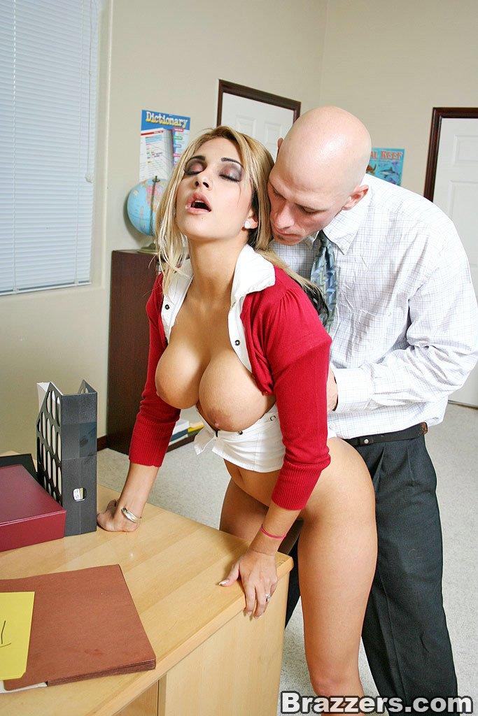 Big Tits School