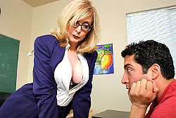 bigtitsatschool Nina Hartley img
