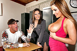 big tits at school Victoria Valentino and Austin Kincaid img